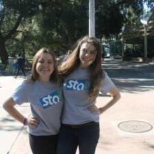 Peer to peer marketing through STA college campus travel ambassadors