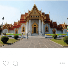 Experiential marketing from college brand ambassador: STA Travel photo from Thailand