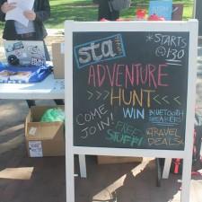 Experiential marketing: STA Travel college adventure hunt