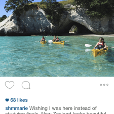 Word of mouth marketing about Kayaking in New Zealand; STA Travel New Zealand sweepstakes