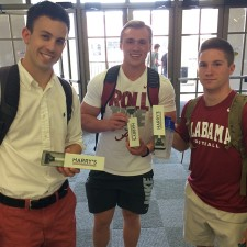 Alabama college brand ambassadors for Harry's razors