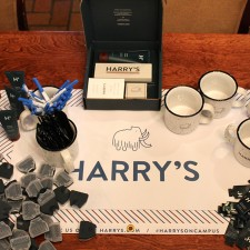 Harry's college marketing promotional display #harrysoncampus