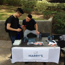 Peer to peer marketing of Harry's shaving products on college campuses by brand ambassadors