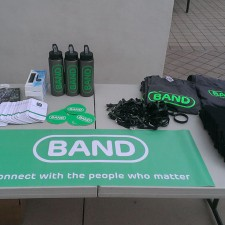 Band is marketing to millennials with various promotional items