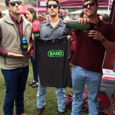 Texas A&M brand ambassadors for Band
