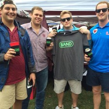 Marketing to millennials: Texas A&M students love their Band t-shirts and beer coozies