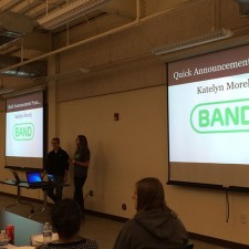 Peer to peer marketing presentation for Band on the college campus