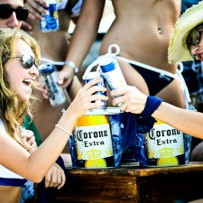 A toast to Corona's experiential marketing campaign on the beaches of Cancun
