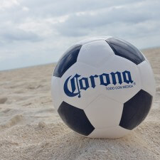 Marketing to millennials with Corona soccer balls