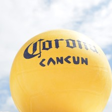 Marketing to millennials with Corona volleyballs