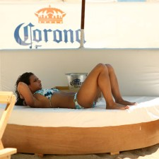Corona beach lounges provide experiential marketing options