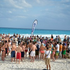 Corona experiential marketing to millennials in Cancun