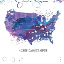 Millennial marketing college brand ambassador program for Jessica Simpson