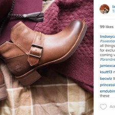Temple U. brand ambassadors use peer to peer marketing on social media to promote Timberland giveaways