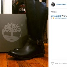Peer to peer marketing for Timberland boots via Instagram