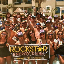 Rockstar Energy Drink spring break experiential marketing college marketing