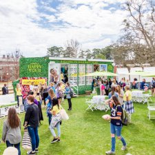 aerie college marketing mobile pop-up campus tour