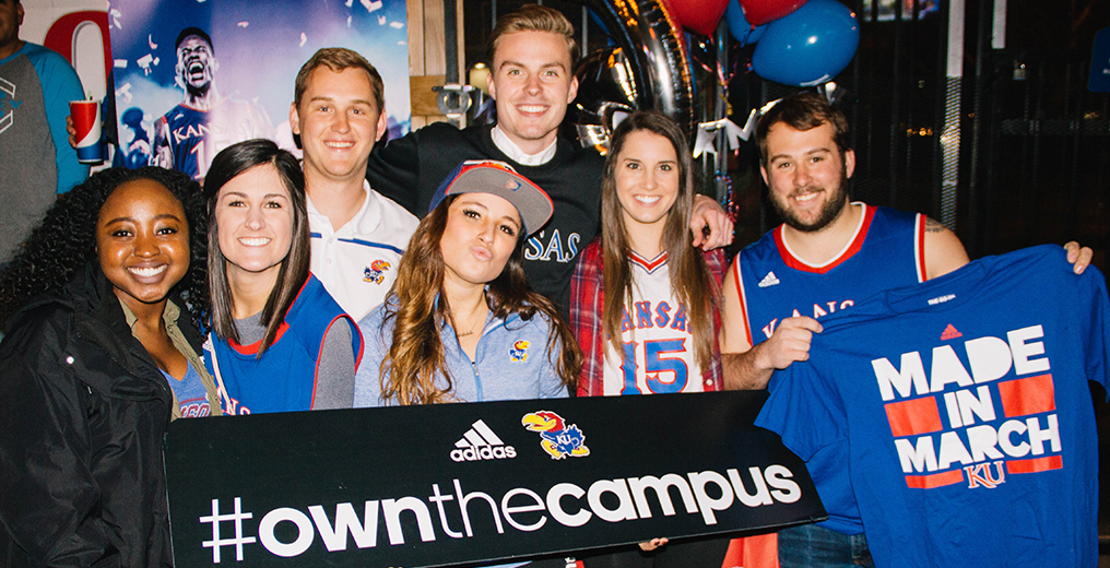 marketing to college students for Adidas