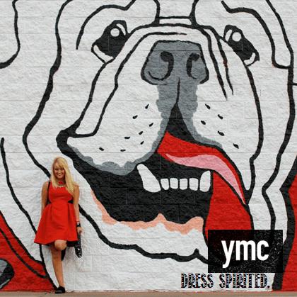 """""""Dress spirited"""" ad for Millennial fashion by YMC"""