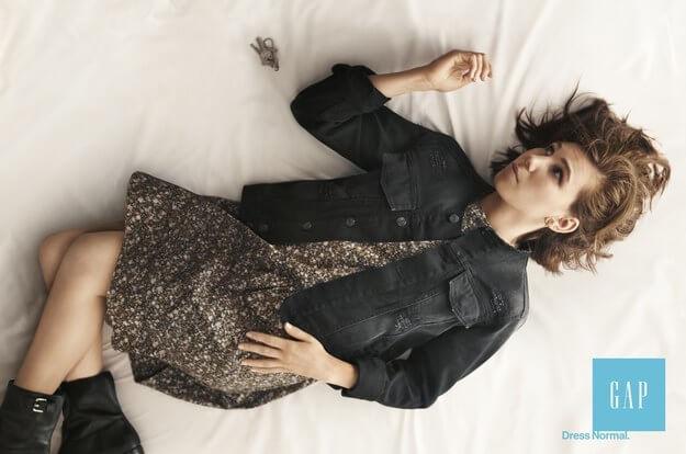 Gap ad for Millennial fashion