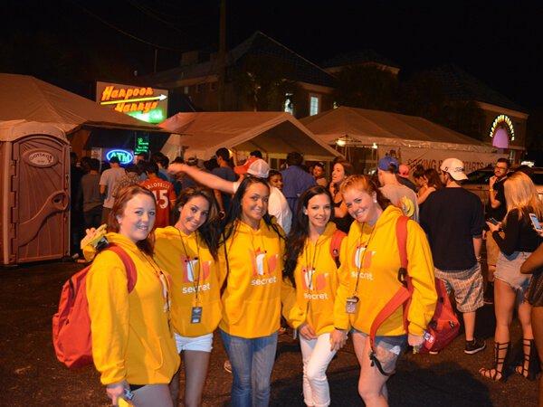 Secret college brand ambassadors in Panama City Beach's night life