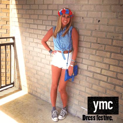 """YMC """"Dress Festive"""" ad for Millennial fashion"""