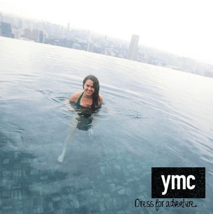 """Dress for Adventure"" YMC ad for Millennial fashion"