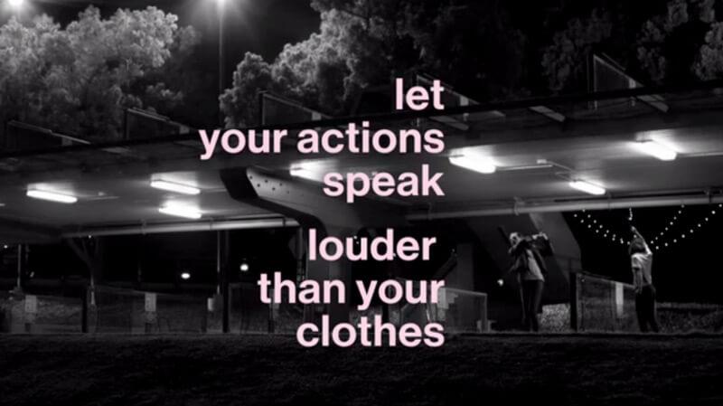 Gap ad that doesn't focus on Millennial fashion